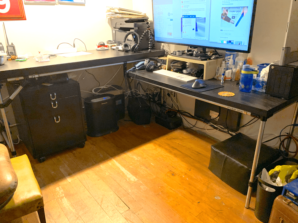 DIY Standing and Sitting Desk