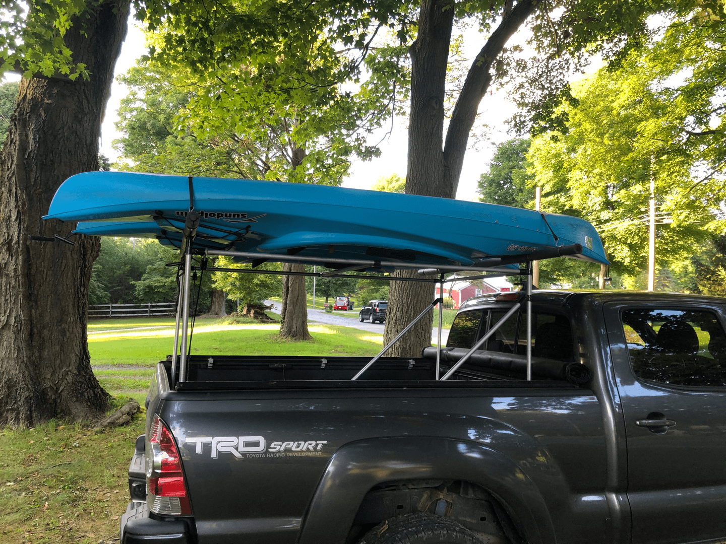 Custom Kayak Rack for a Truck Bed