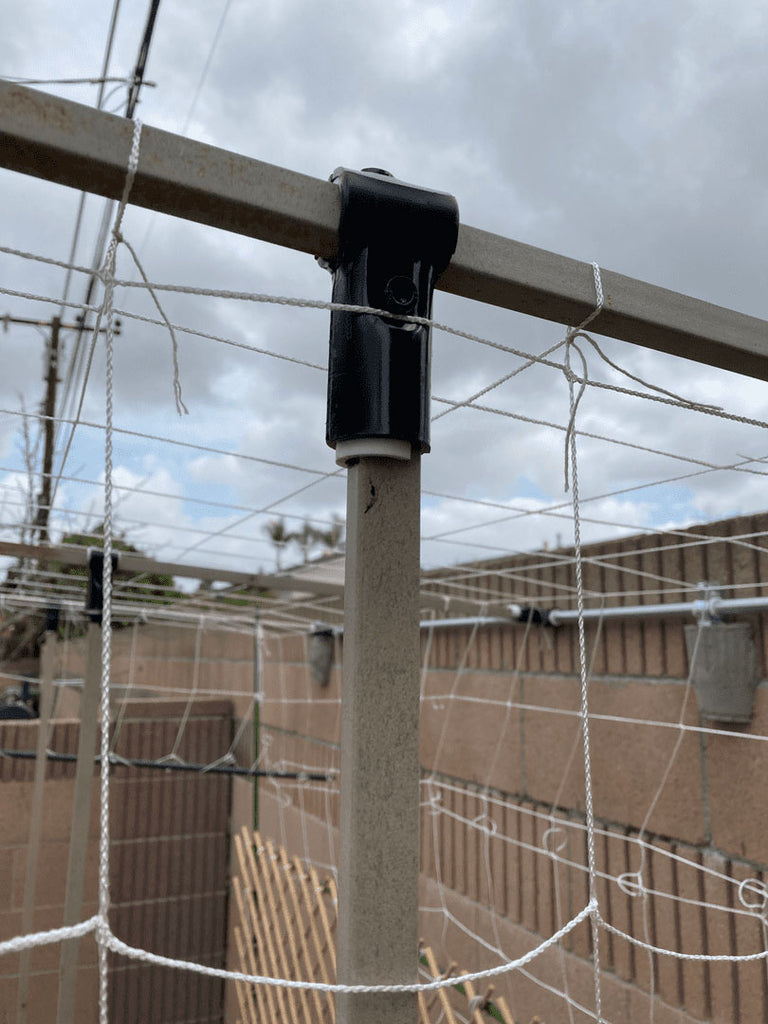 DIY Square Tube Trellis With Adapter Shims