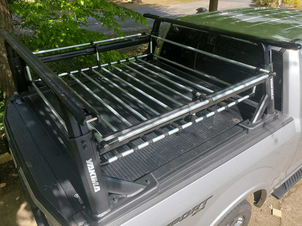 DIY Truck Bed With Tailgate