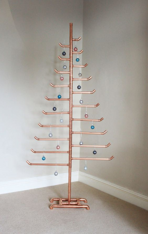 diy conduit emt pipe christmas tree maker pipe