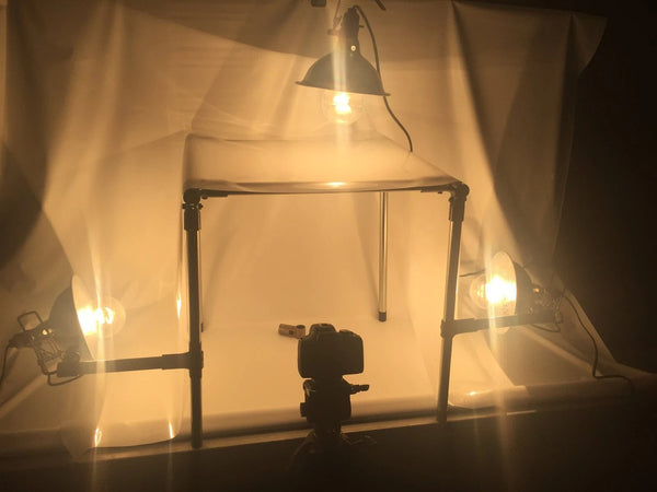 diy photography lightbox maker pipe