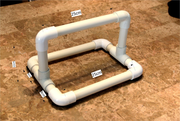 kitchen towel holder maker pipe