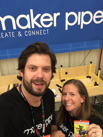 maker pipe diy project team