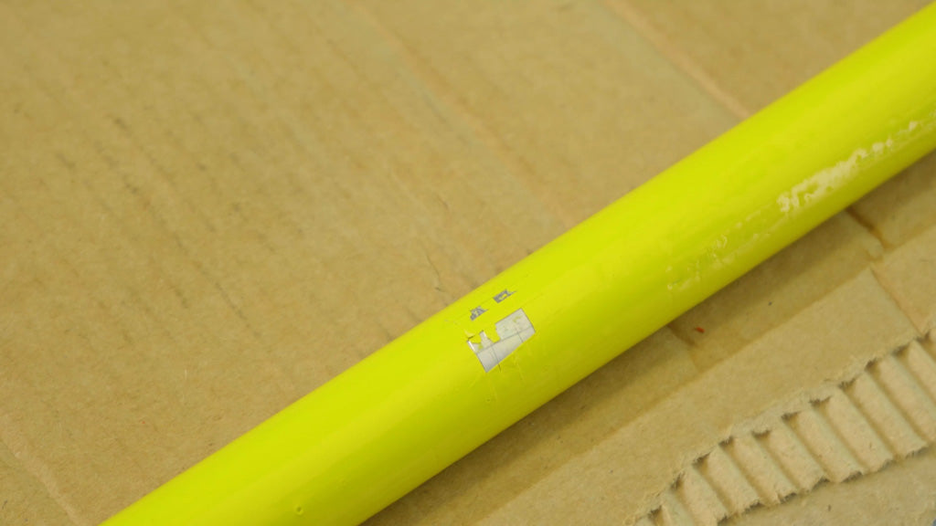 Hand Painted Pipe Failed The Adhesion Test