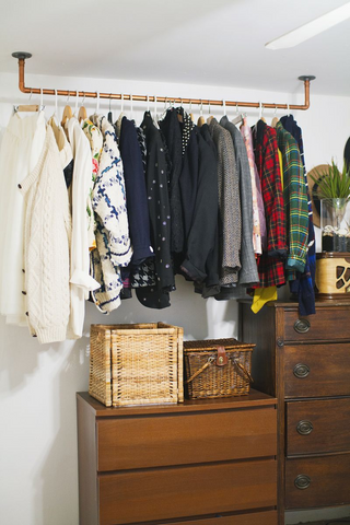diy clothes pipe rack maker pipe
