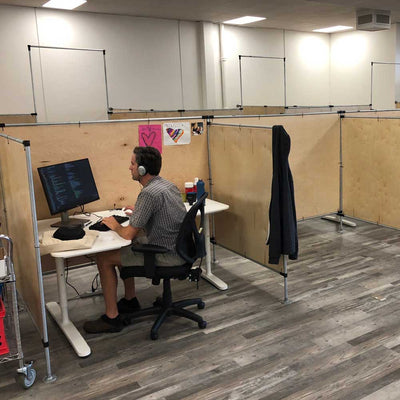 DIY Office Partitions