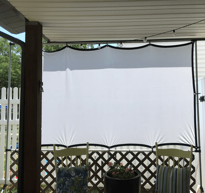 DIY Outdoor Move Projector Screen
