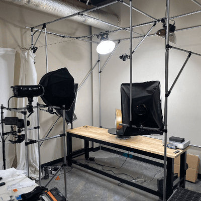 Photo And Video Studio With Added Cameras Lights Monitors