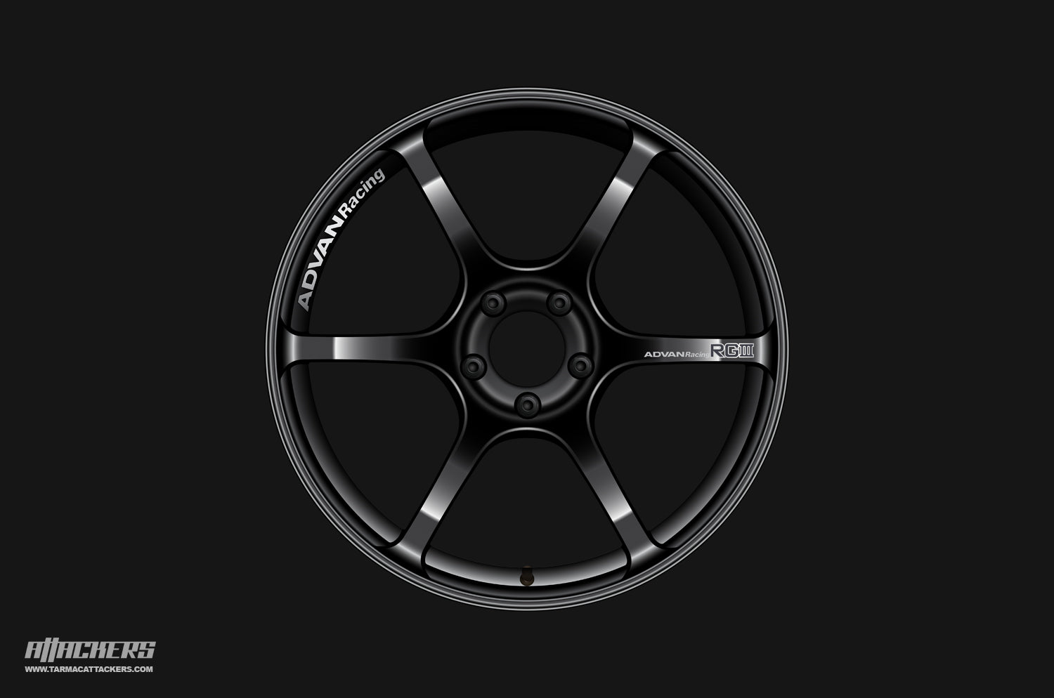 Advan RGIII Black wheels