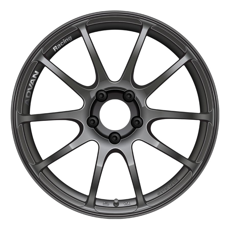 Advan RZ II Wheels - Hyper Black-Advan-TARMAC ATTACKERS