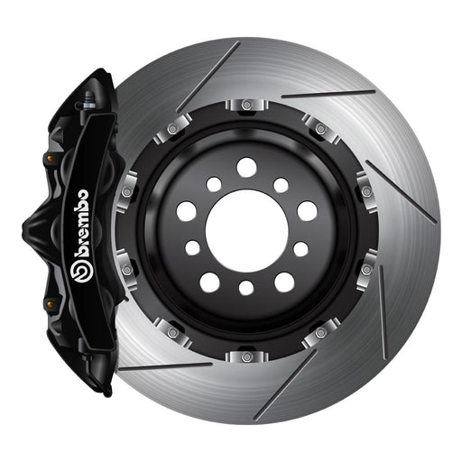 Brembo GT Big Brake Kit Black - 2008-2014 Subaru STI-Brembo-TARMAC ATTACKERS