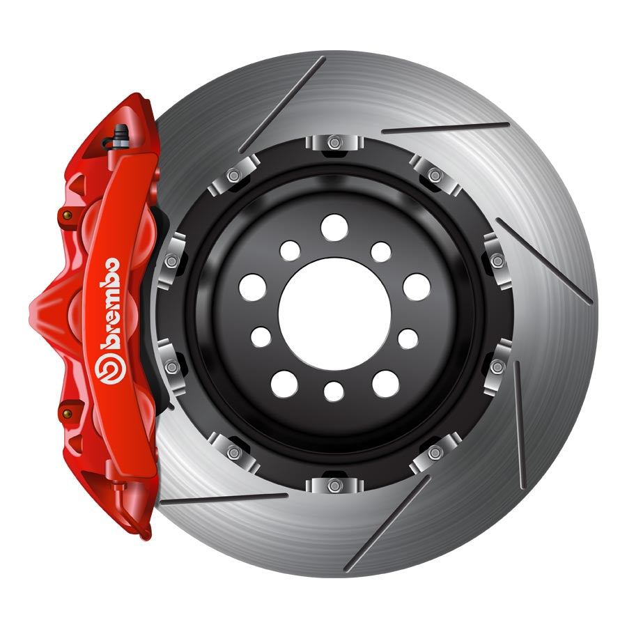 Brembo GT Big Brake Kit Red - 2015+ Subaru WRX-Brembo-TARMAC ATTACKERS