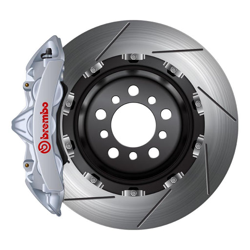 Brembo GT Big Brake Kit Silver - 2017+ Honda Civic Type R-Brembo-TARMAC ATTACKERS