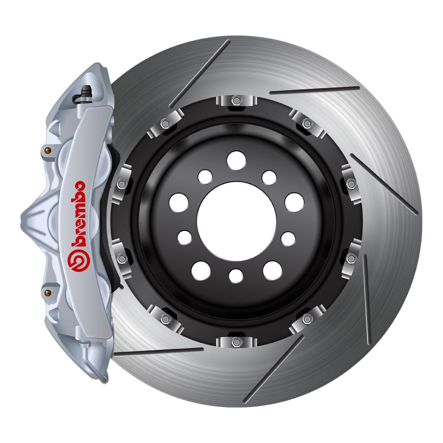 Brembo GT Big Brake Kit Silver - 2015+ Subaru WRX-Brembo-TARMAC ATTACKERS