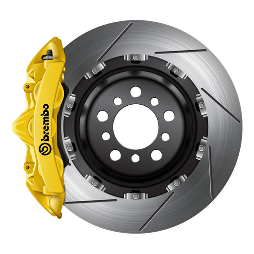 Brembo GT Big Brake Kit Yellow - 2008+ Mitsubishi Evo X-Brembo-TARMAC ATTACKERS