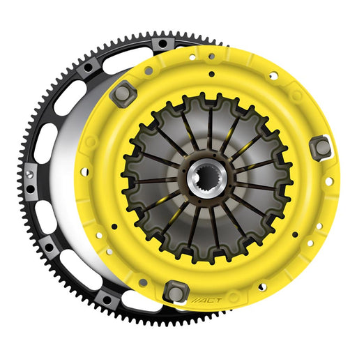 Act Heavy Duty Solid 4-Puck Disc Clutch Kit w/ Prolite Flywheel - 2013+ FRS BRZ GT86-ACT-TARMAC ATTACKERS
