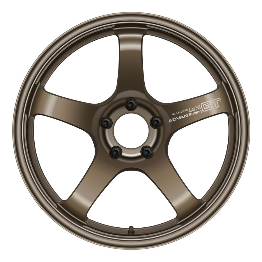 Advan GT Wheels - Dark Bronze Metallic-Advan-TARMAC ATTACKERS