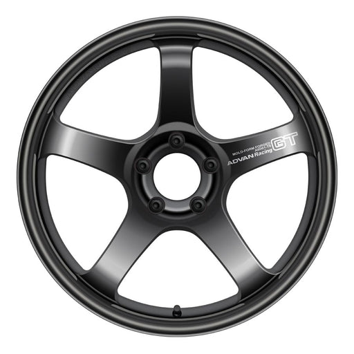 Advan GT Wheels - Semi Gloss Black-Advan-TARMAC ATTACKERS