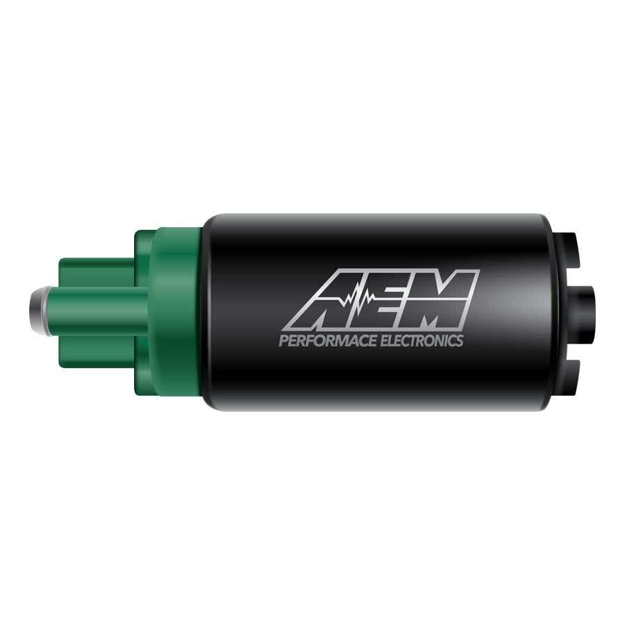 AEM 340lph E85 Hi Flow In-Tank Fuel Pump w/ Hooks - 2008+ Mitsubishi Evo X-AEM-TARMAC ATTACKERS