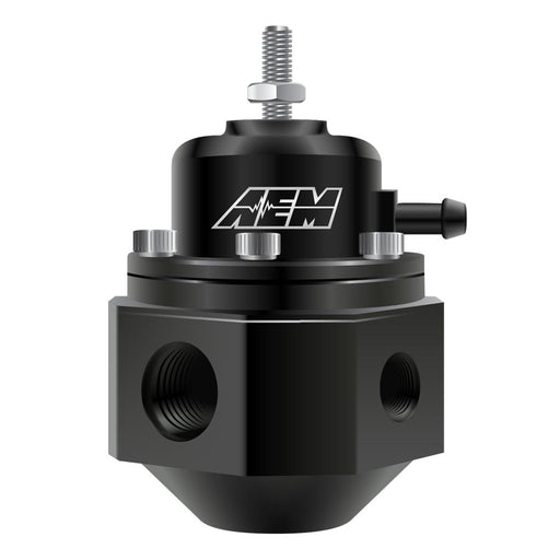 AEM Adjustable Fuel Pressure Regulator Black - 2008+ Mitsubishi Evo X-AEM-TARMAC ATTACKERS