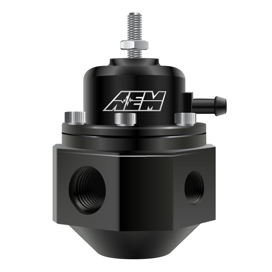 AEM Adjustable Fuel Pressure Regulator Black - 2015+ Subaru STI-AEM-TARMAC ATTACKERS