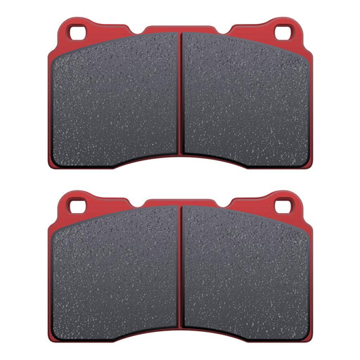 DBA XP650 Track Performance Front Brake Pads - 2008-2014 Subaru STI-DBA-TARMAC ATTACKERS