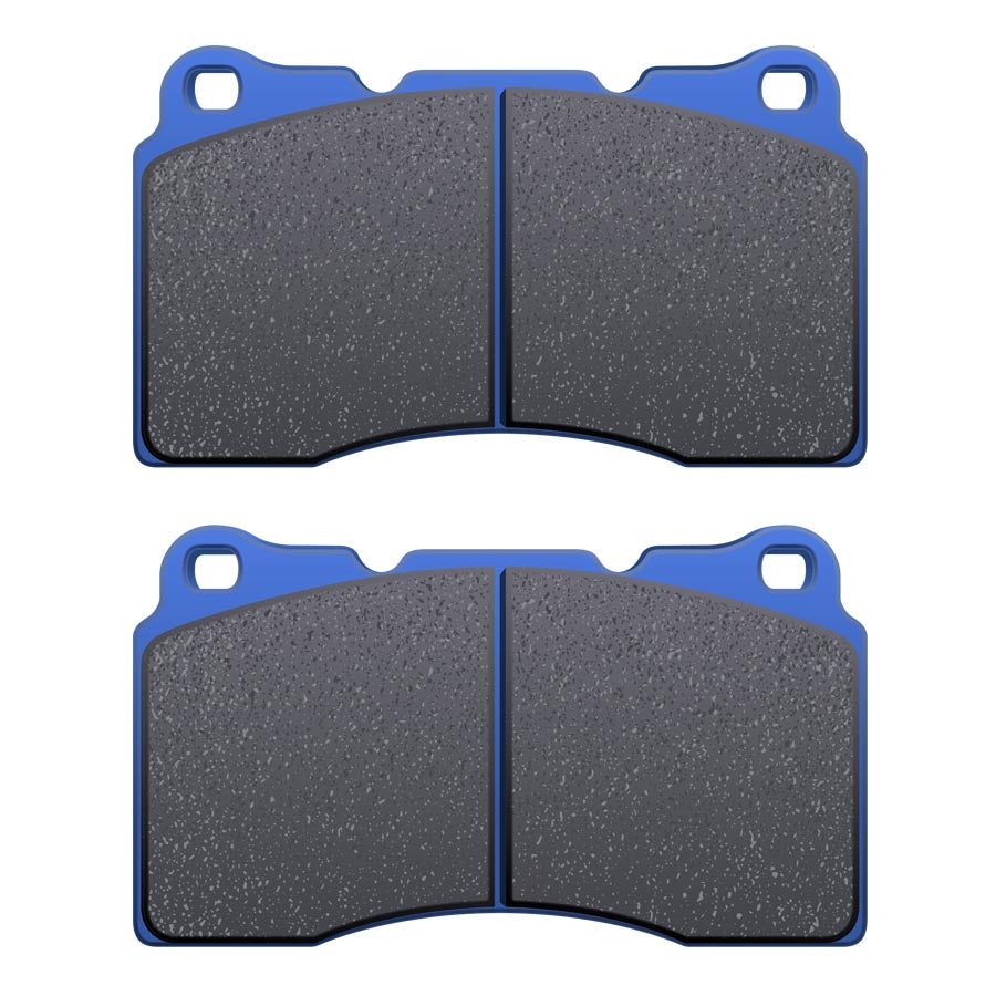 Hawk Blue 9012 Front Brake Pads - 2008+ Mitsubishi Evo X-Hawk-TARMAC ATTACKERS