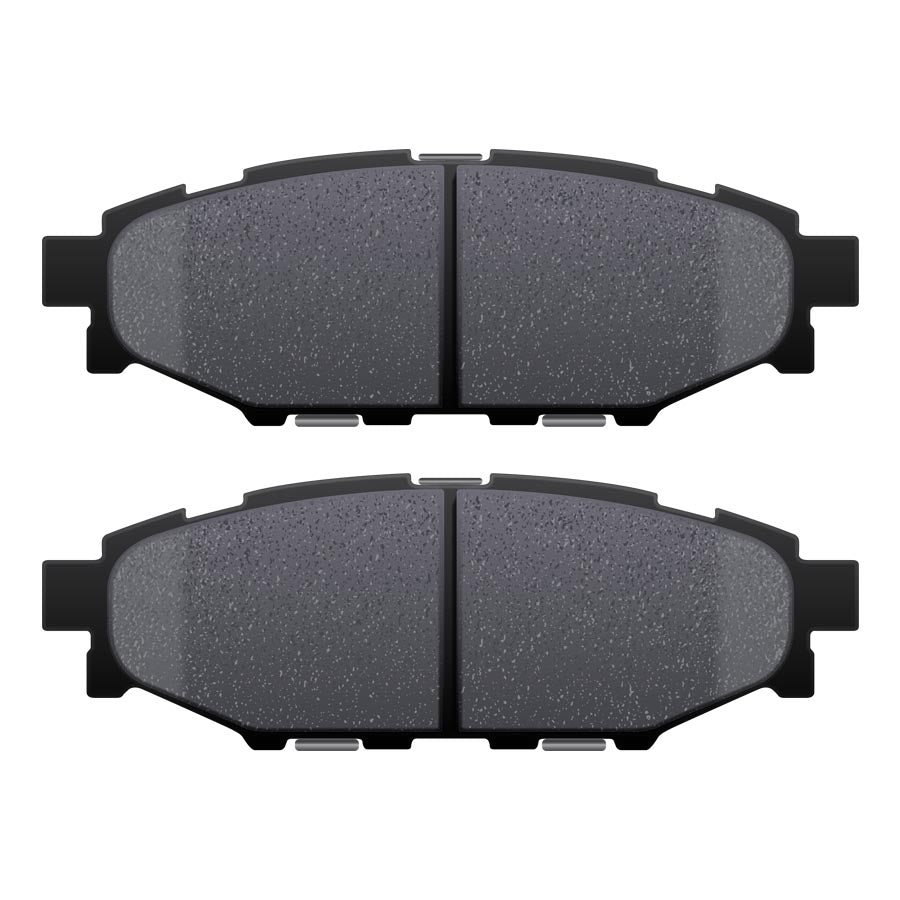 Hawk HP Plus Rear Brake Pads - 2013+ FRS BRZ GT86-Hawk-TARMAC ATTACKERS