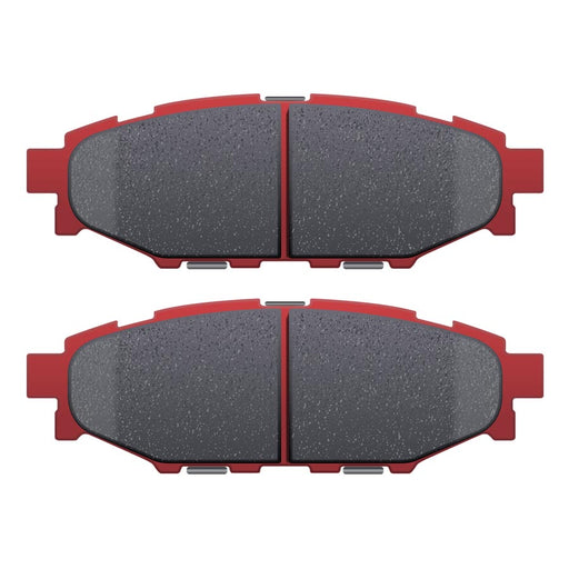 DBA XP650 Track Performance Rear Brake Pads - 2013+ FRS BRZ GT86-DBA-TARMAC ATTACKERS