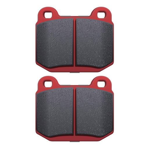 DBA XP650 Track Performance Rear Brake Pads - 2008-2014 Subaru STI-DBA-TARMAC ATTACKERS