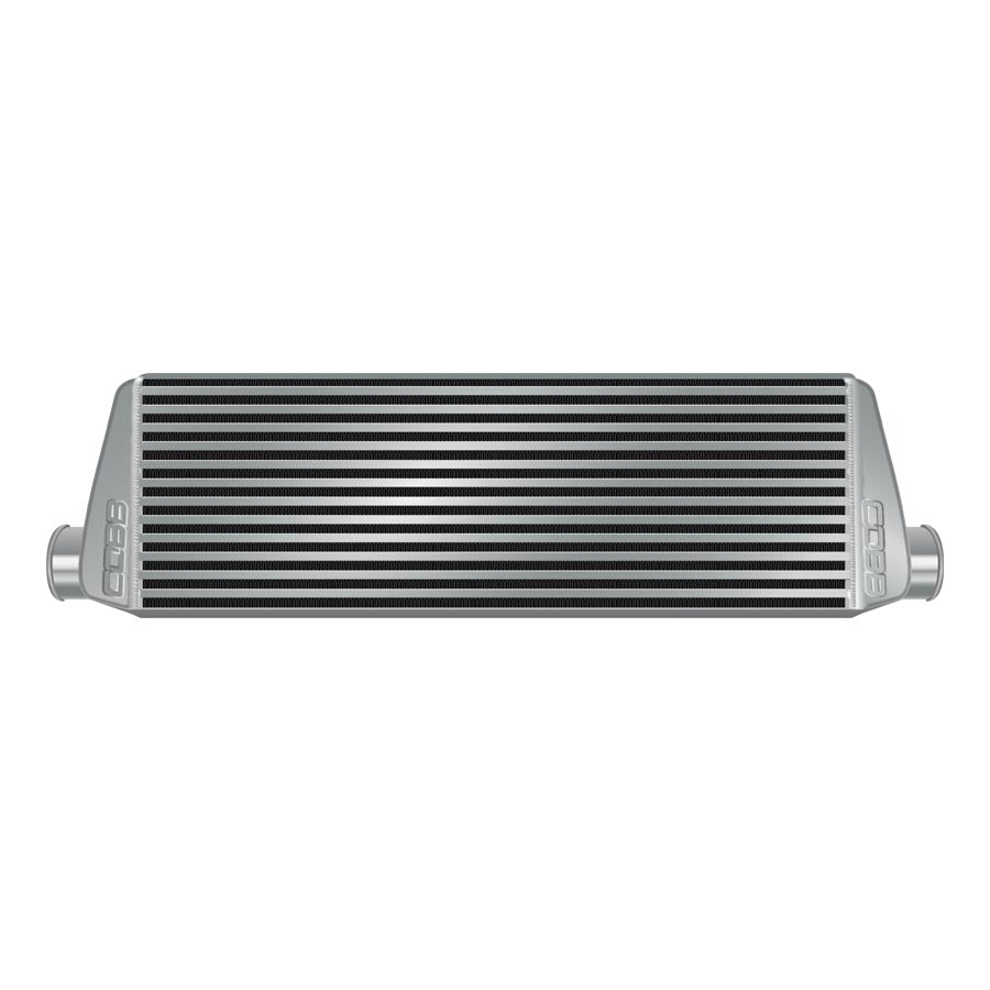 COBB Tuning Front Mount Intercooler Core Silver - 2008-2014 Subaru STI-COBB-TARMAC ATTACKERS