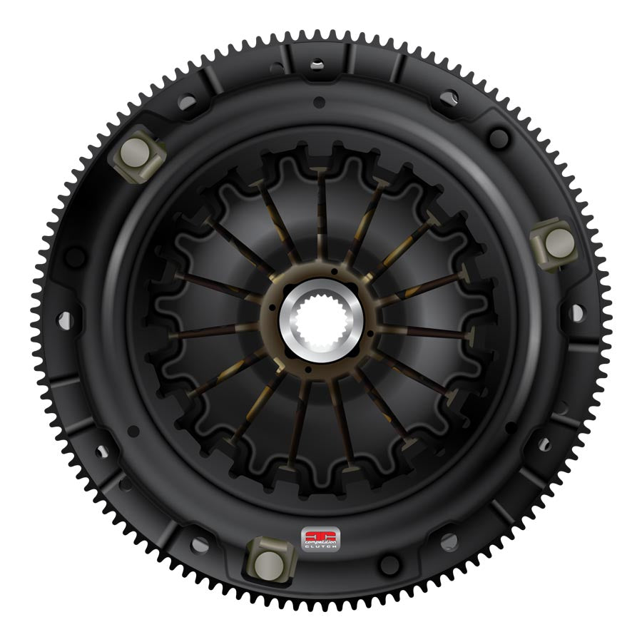 Competition Clutch Stage 3 Multi Plate Twin Organic Clutch Kit w/ Flywheel - 2015+ Subaru STI-Competition Clutch-TARMAC ATTACKERS