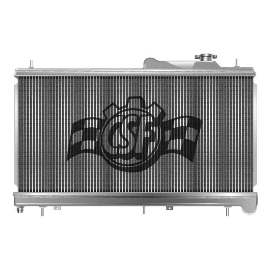 CSF Aluminum Racing Radiator - 2008+ Mitsubishi Evo X-CSF-TARMAC ATTACKERS