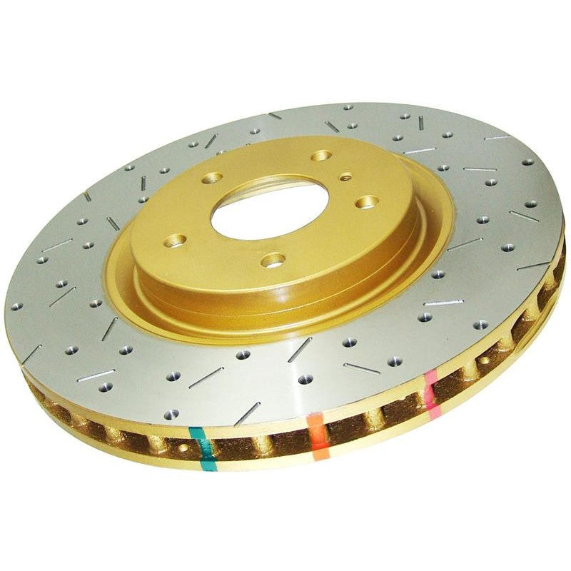 DBA 4000 Series Rear Drilled/Slotted Rotor Pair - 2013+ FRS BRZ GT86-DBA-TARMAC ATTACKERS
