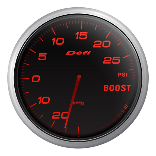 Defi Advance BF Red Boost Gauge Imperial - Universal-Defi-TARMAC ATTACKERS