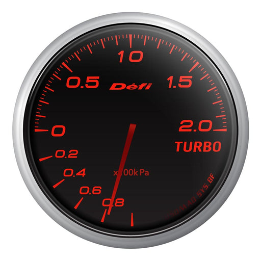 Defi Advance BF Red Boost Gauge Metric - Universal-Defi-TARMAC ATTACKERS