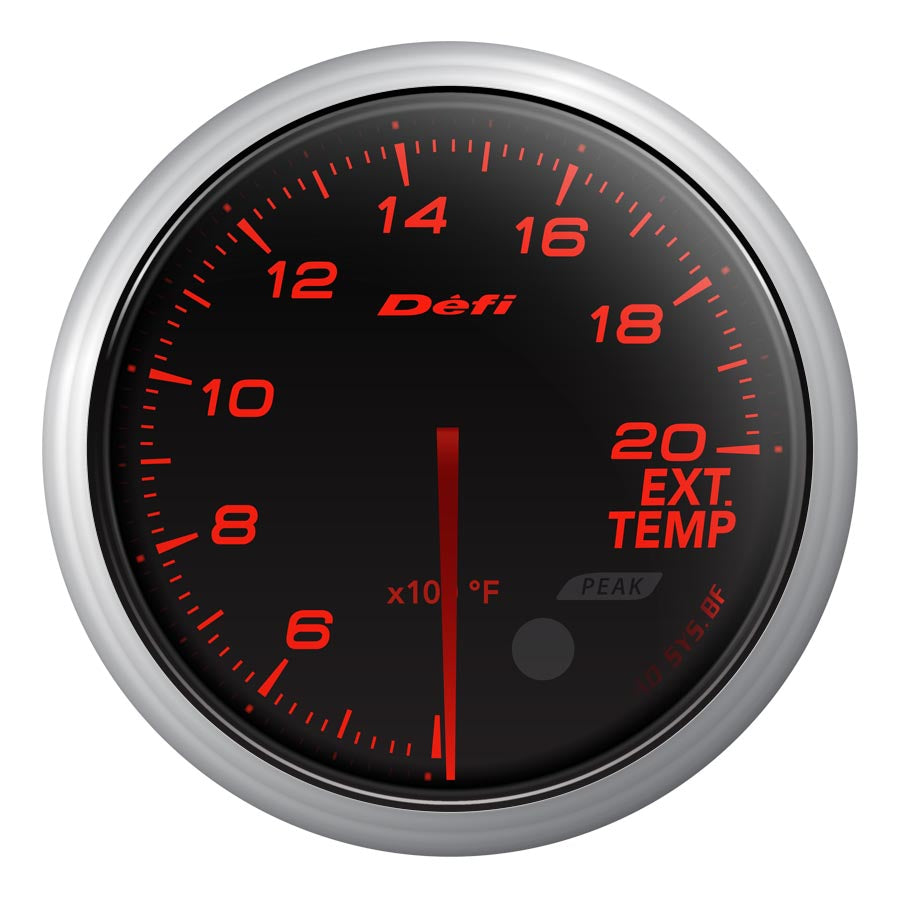 Defi Advance BF Red Exhaust Temp Gauge Imperial - Universal-Defi-TARMAC ATTACKERS