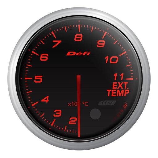 Defi Advance BF Red Exhaust Temp Gauge Metric - Universal-Defi-TARMAC ATTACKERS