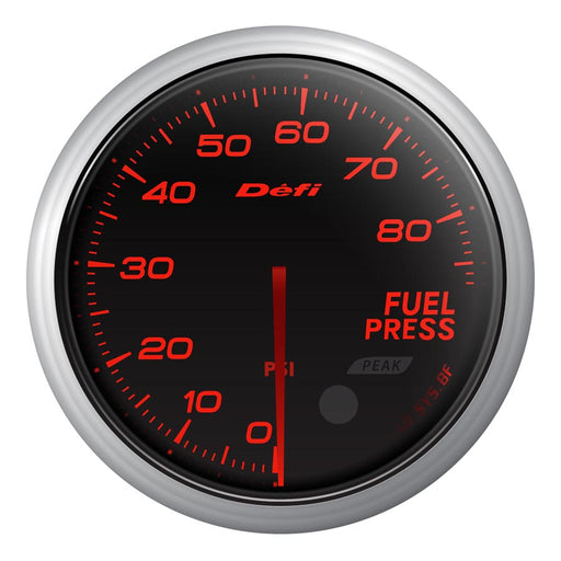 Defi Advance BF Red Fuel Pressure Gauge Imperial - Universal-Defi-TARMAC ATTACKERS