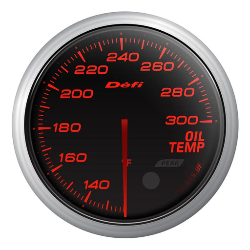 Defi Advance BF Red Oil Temp Gauge Imperial - Universal-Defi-TARMAC ATTACKERS