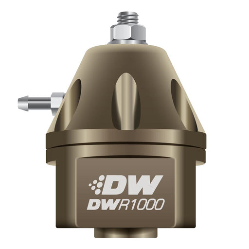 DeatschWerks DWR1000 Adjustable Fuel Pressure Regulator Bronze - 2008+ Mitsubishi Evo X-DeatschWerks-TARMAC ATTACKERS