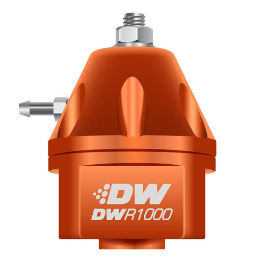 DeatschWerks DWR1000 Adjustable Fuel Pressure Regulator Orange - 2008+ Mitsubishi Evo X-DeatschWerks-TARMAC ATTACKERS