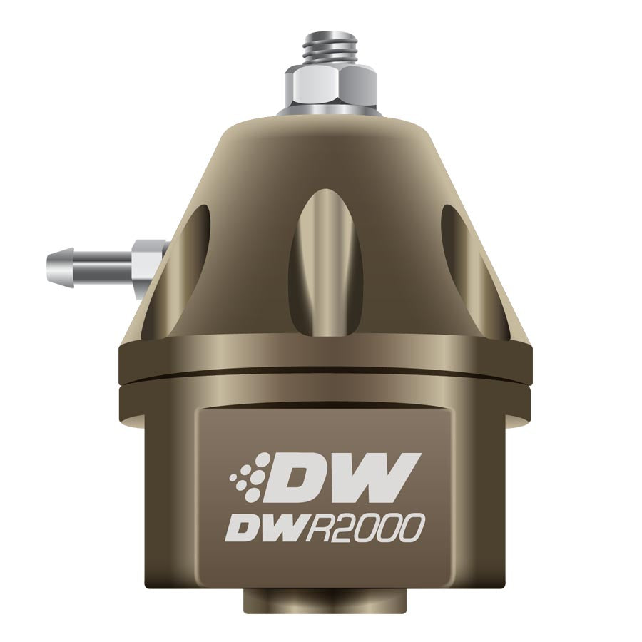 DeatschWerks DWR2000 Adjustable Fuel Pressure Regulator Bronze - 2008+ Mitsubishi Evo X-DeatschWerks-TARMAC ATTACKERS