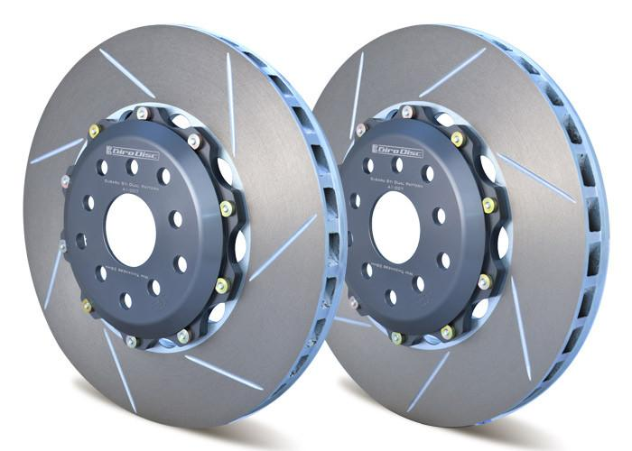 Girodisc Rear 2 Piece Rotors - 2015+ Subaru STI-Girodisc-TARMAC ATTACKERS