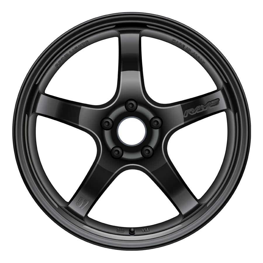 Gram Lights 57CR Wheels - Gloss Black-Gram Lights-TARMAC ATTACKERS