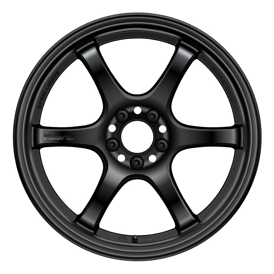 Gram Lights 57DR Wheels - Semi Gloss Black-Gram Lights-TARMAC ATTACKERS