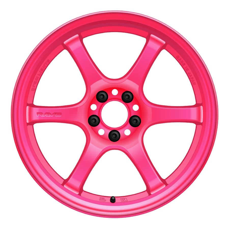 Gram Lights 57DR Wheels - Pink-Gram Lights-TARMAC ATTACKERS