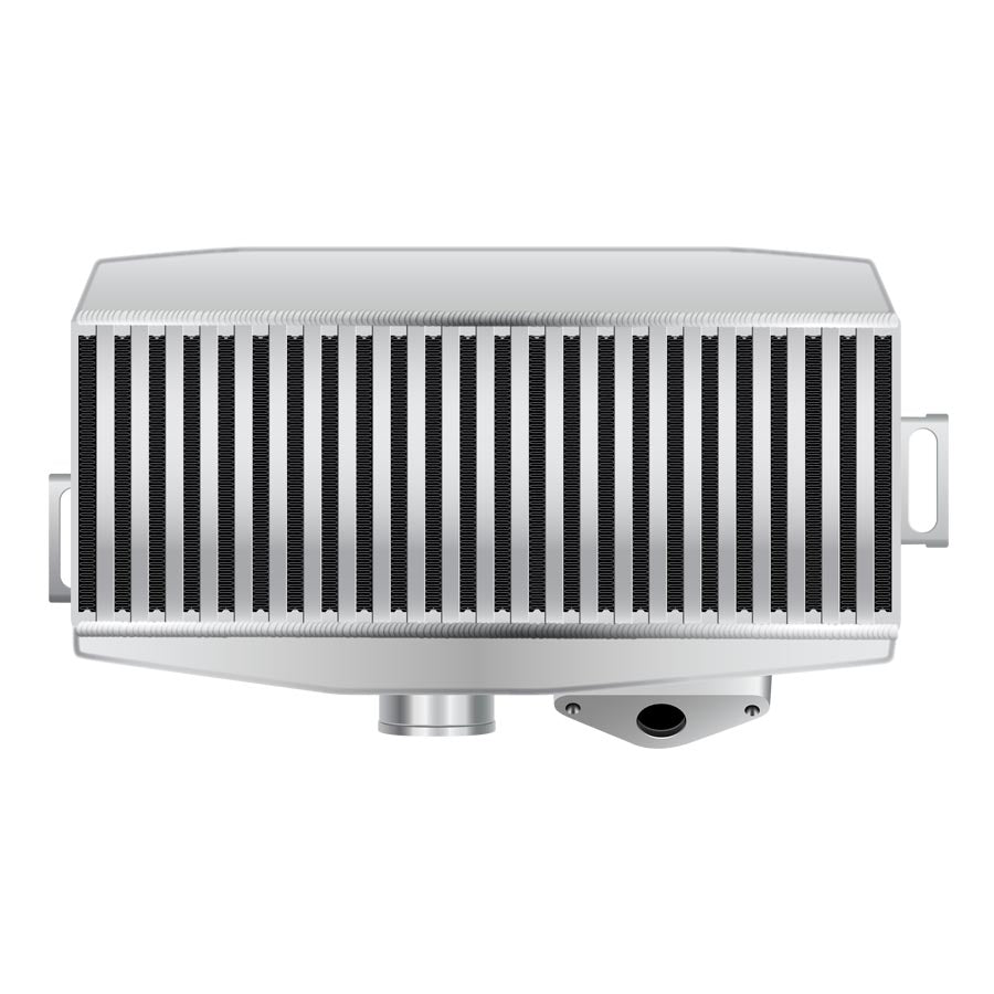 GrimmSpeed Top Mount Intercooler Silver - 2015+ Subaru STI-GrimmSpeed-TARMAC ATTACKERS