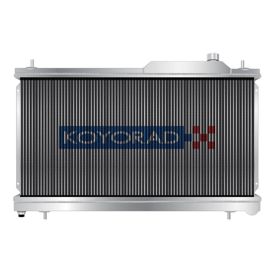 Koyo Aluminum Racing Radiator - 2008-2014 Subaru STI-Koyo-TARMAC ATTACKERS
